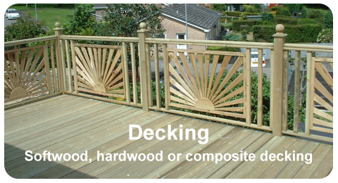 Timber Decking - Example of Work
