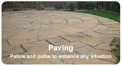 Paving, Patios and Paths - Example of Work