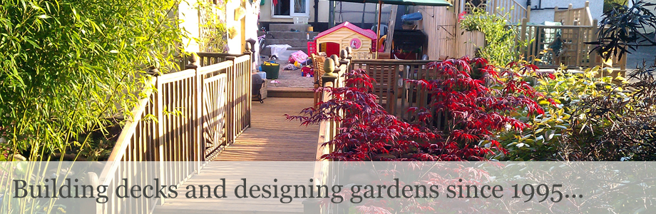 Decking, paving, fencing and landscape gardening slide 2