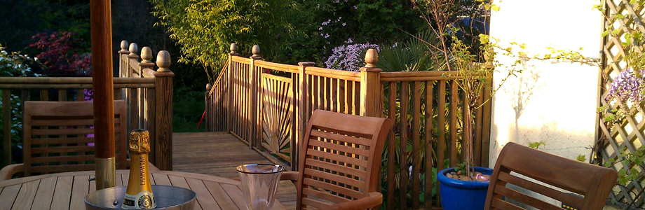 Decking, paving, fencing and landscape gardening slide 3