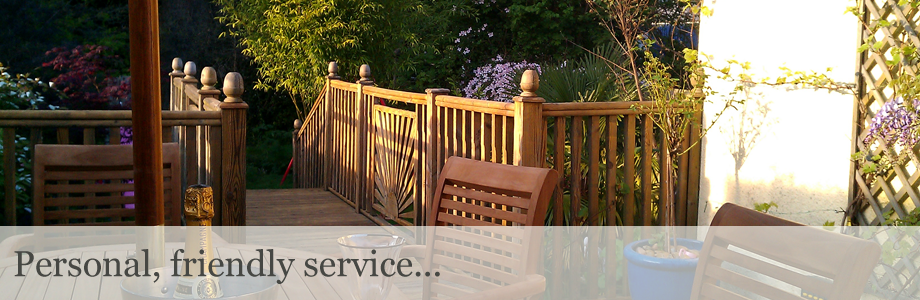 Decking, paving, fencing and landscape gardening slide 4